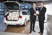 Allsvenskan och Superettan inleder samarbete med Volkswagen