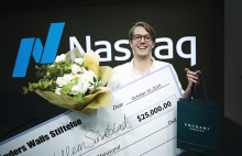 Anders Wall Award for Exceptional Entrepreneurship på 25.000 dollar till Willem Sundblad