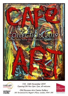 Cafe Art: An exhibition by artists who have experienced homelessness