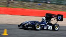 Nyskapande racingbil med Lesjöforsfjädrar i världstoppen för studentrace