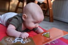 I höst börjar Nyföddboken i Västerbotten att delas ut till länets nyfödingar!