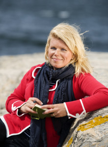 Deckarförfattare Ann Rosman till Lidköpings Stadsbibliotek på Värdsbokdagen
