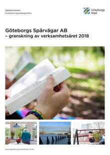 Göteborgs Spårvägar AB – granskning av verksamhetsåret 2018