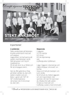 Recept Stockholm Culinary Team