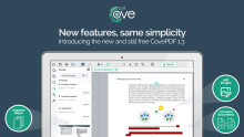 New features in the simple and free CovePDF