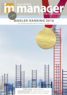 Makler-Ranking 2016: Immobilienberater haben Grund zur Freude