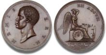 Historisk slavemedalje får rekordhammerslag hos Bruun Rasmussen