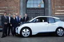 400 BMW i3 er på vej til København
