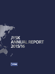 JYSK Annual Report 2015/16