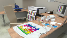Launch of Epson's First Desktop Dye-Sublimation Digital Textile Printer