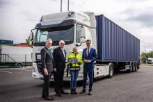 Två DAF CF Electric till Rhenus Logistics i Tyskland