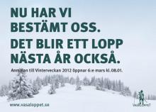 Halvtid för Vasaloppets Vintervecka 2011 – 31.478 har åkt i mål