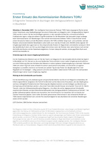 PM Erster Testeinsatz TORU 06.11.15