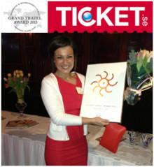 Alexandra på Ticket blev Årets resesäljare