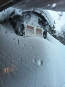 Snöskottning tynger svenskarna