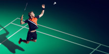 SALMING LAUNCHES BADMINTON!