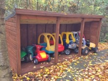 Keyline Colchester helps children's charity park toy cars
