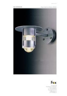 Produktblad Fox Design utomhusbelysning Grönnegade LED