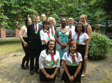 Lord Mayor joins HMRC to celebrate students' achievements