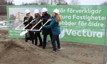 Vectura bygger sitt första passivhus i Knivsta