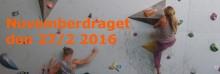 Novemberdraget  27 februari | klättertävling i bouldring på IKSU sport