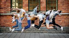 Dansfest i Kungsträdgården med Balettakademien