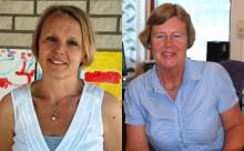 Järfällas pedagogpris – det gyllene äpplet –  till Anne-Marie Zetterman och Karin Sahlberg