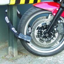 Ny undersökning visar: Två av tre låser inte sin motorcykel ordentligt