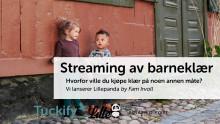 """Skal """"strømme"""" Norsk design til alle barnefamilier"""