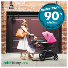 9 av 10 rekommenderar Orbit Baby G3