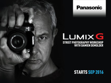 ​Panasonic kicks off Autumn LUMIX G Street Photography Workshops with Damien Demolder