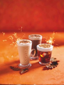 COSTA COFFEE LAUNCHES SMOKIN' NEW MENU FOR AUTUMN