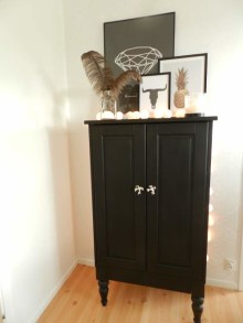 Förvandla IKEA-möblen med färg och nya knoppar