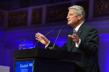 Mensch und Maschine – in bester Gesellschaft? acatech Festveranstaltung mit Bundespräsident Gauck