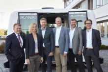 For første gang er en selvkjørende elbuss på veien i Norge