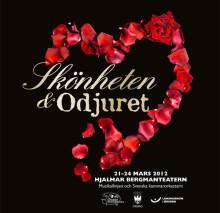 Musikalen Skönheten och Odjuret  har Örebropremiär! Kulturskolan och Svenska Kammarorkestern i samarbete