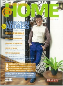 HAUS Furnishing featured on @Home Magazine