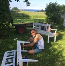 Mød Chris Hammeken - ny direktør for Ærø Turist & Erhverv.