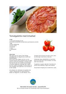 Recept med svenska tomater av Garba on tour, pressträff 16 maj 2018