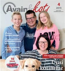 AVAIN&Koti -lehti on ilmestynyt!