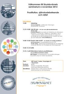 Seminarium 6 november 2012