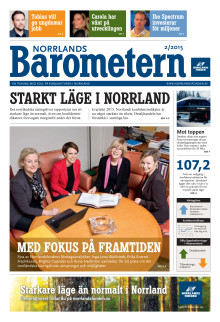 Norrlandsbarometern 2/2015