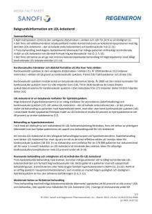 Bakgrundsinformation om LDL-kolesterol