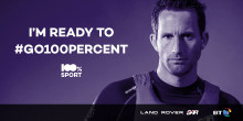 BT calls on fans to #go100percent and support 100% sport movement at Louis Vuitton America's Cup World Series in Portsmouth