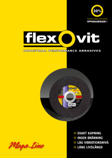 Broschyr Flexovit Mega-Line kapskivor