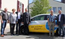 Vier Kommunen der Verwaltungsgemeinschaft Oberviechtach testen Elektroauto