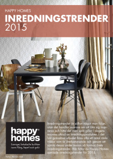 Happy Homes Inredningstrender 2015