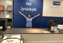JYSK Seppälän uusittu ilme