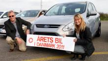 NY FORD C-MAX KÅRET TIL ÅRETS BIL I DANMARK 2011