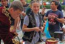 """Kulturelle Vielfalt beim """"Internationalen Nachmittag"""" am 8. Mai 2017 auf dem Campus der Technischen Hochschule Wildau"""